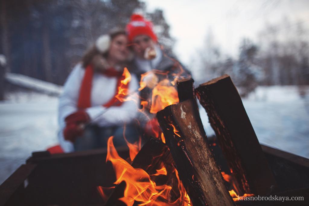Love story - Happy New Year Love Story Pasha & Katya - Фотосесееия пары Катя и Паша в стиле новогодняя сказка от семейных фотографов Краснобродских