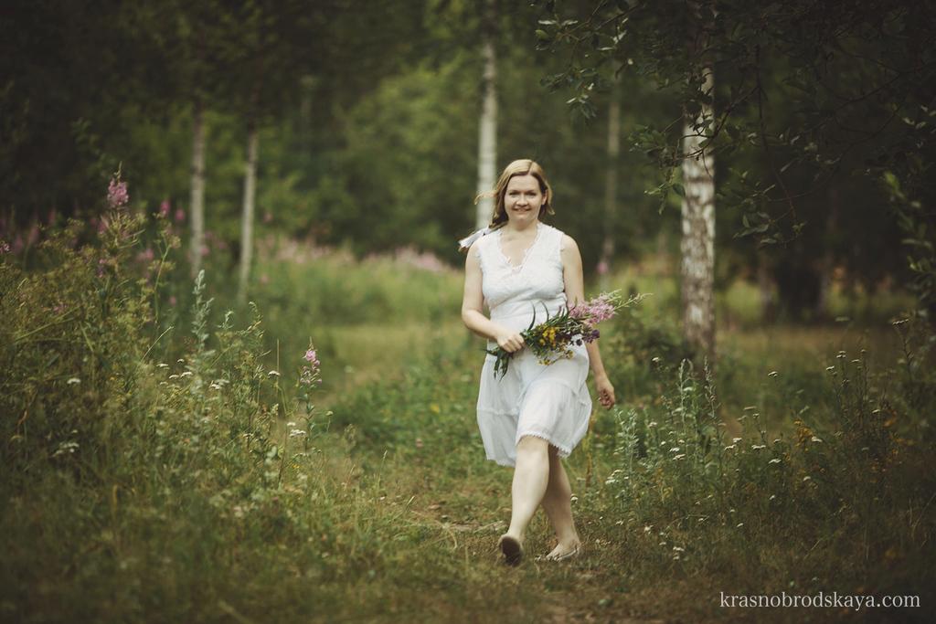 ПОРТРЕТЫ - Anna and her Goldens - Фотосессия-портрет Аня и Голдены в Екатеринбурге от фотографов Краснобродских