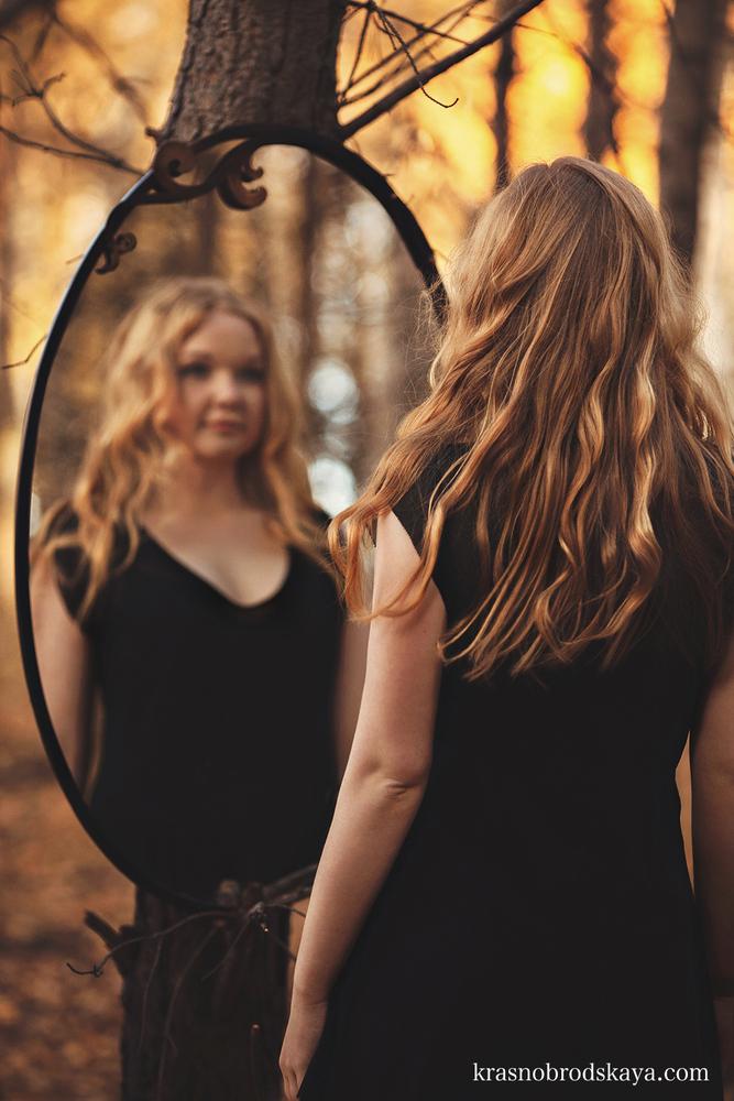 ПОРТРЕТЫ - Irina in the fairy forest - Фотосессия индивидуальная в лесу, от фотографов Краснобродских