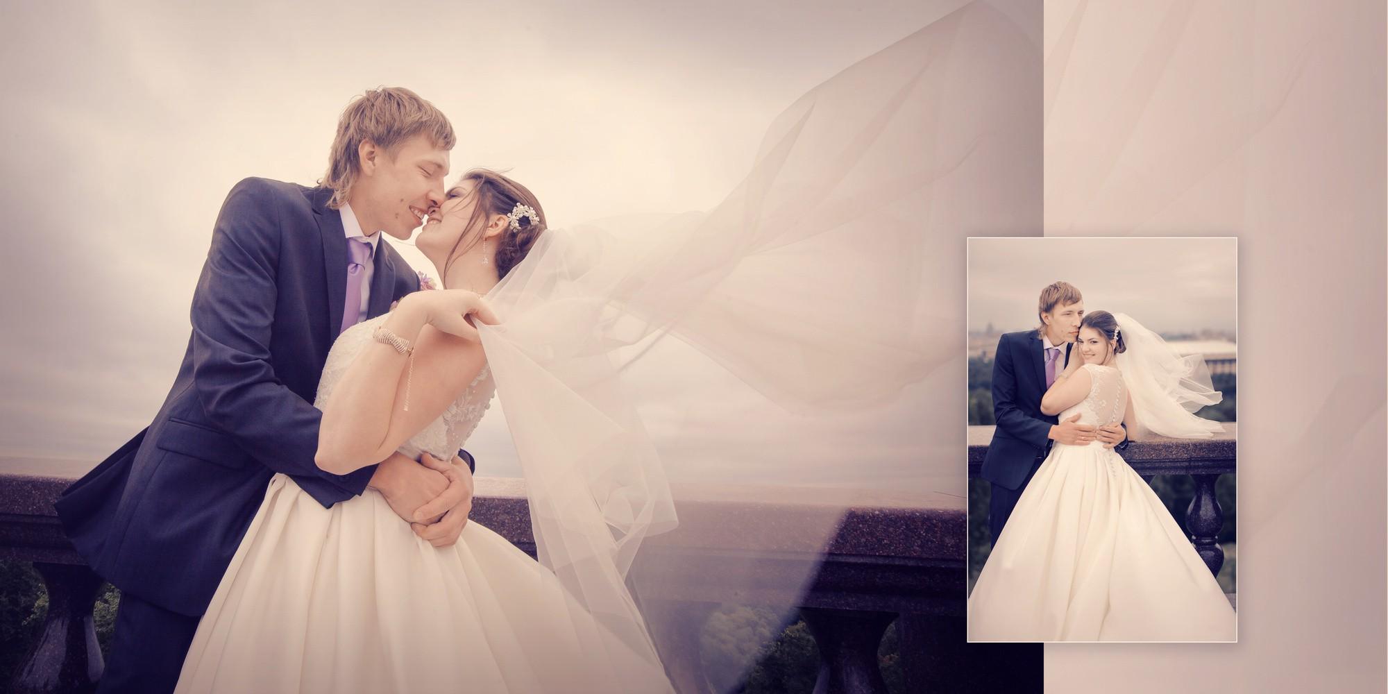 Свадебная книга Виктории и Василия
