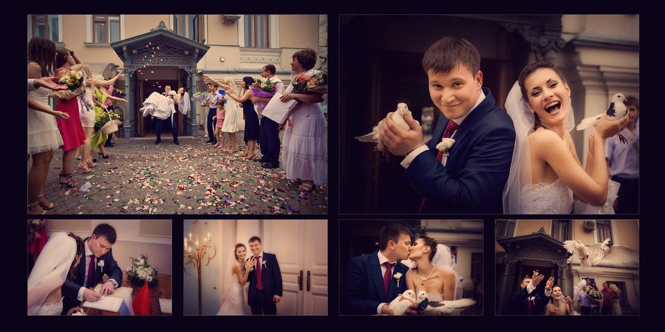 Свадебный альбом Алены и Дмитрия