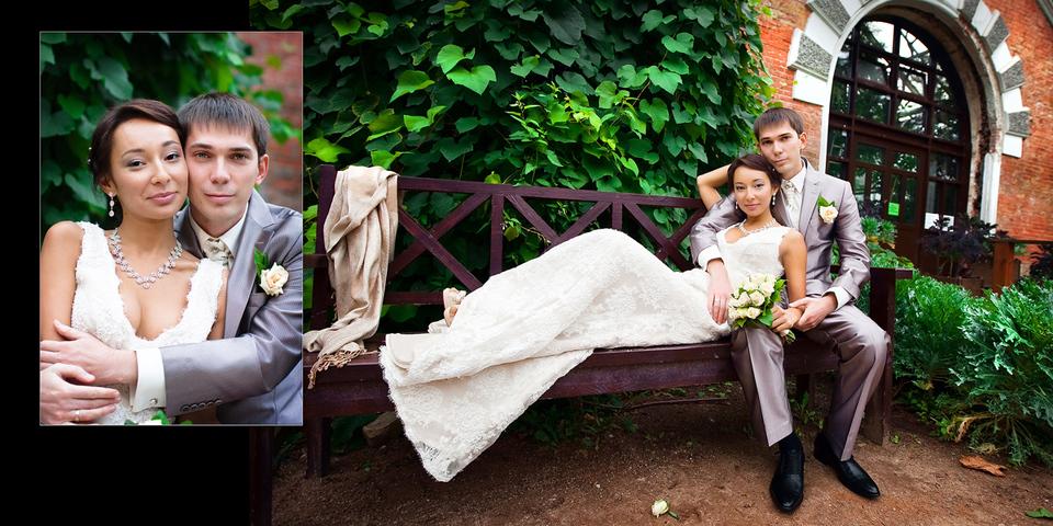 Свадебная книга Елены и Виталия