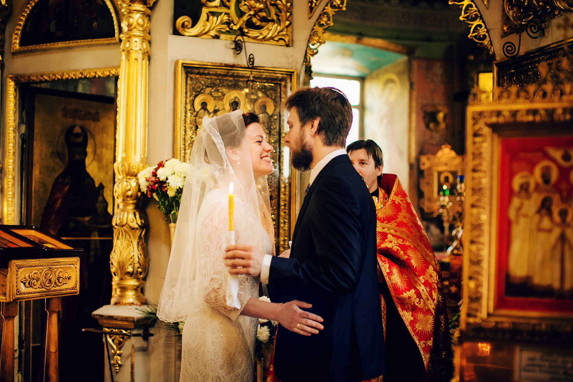 Венчание в Храме Живоначальной Троици