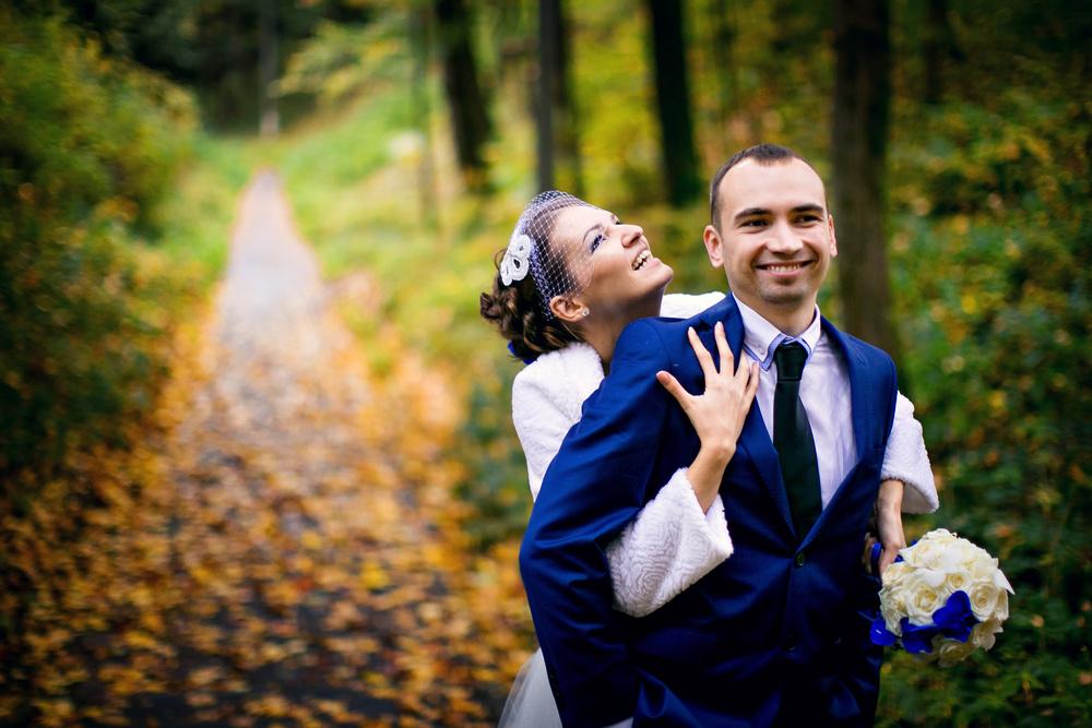 Autumn wedding, Moscow 2013