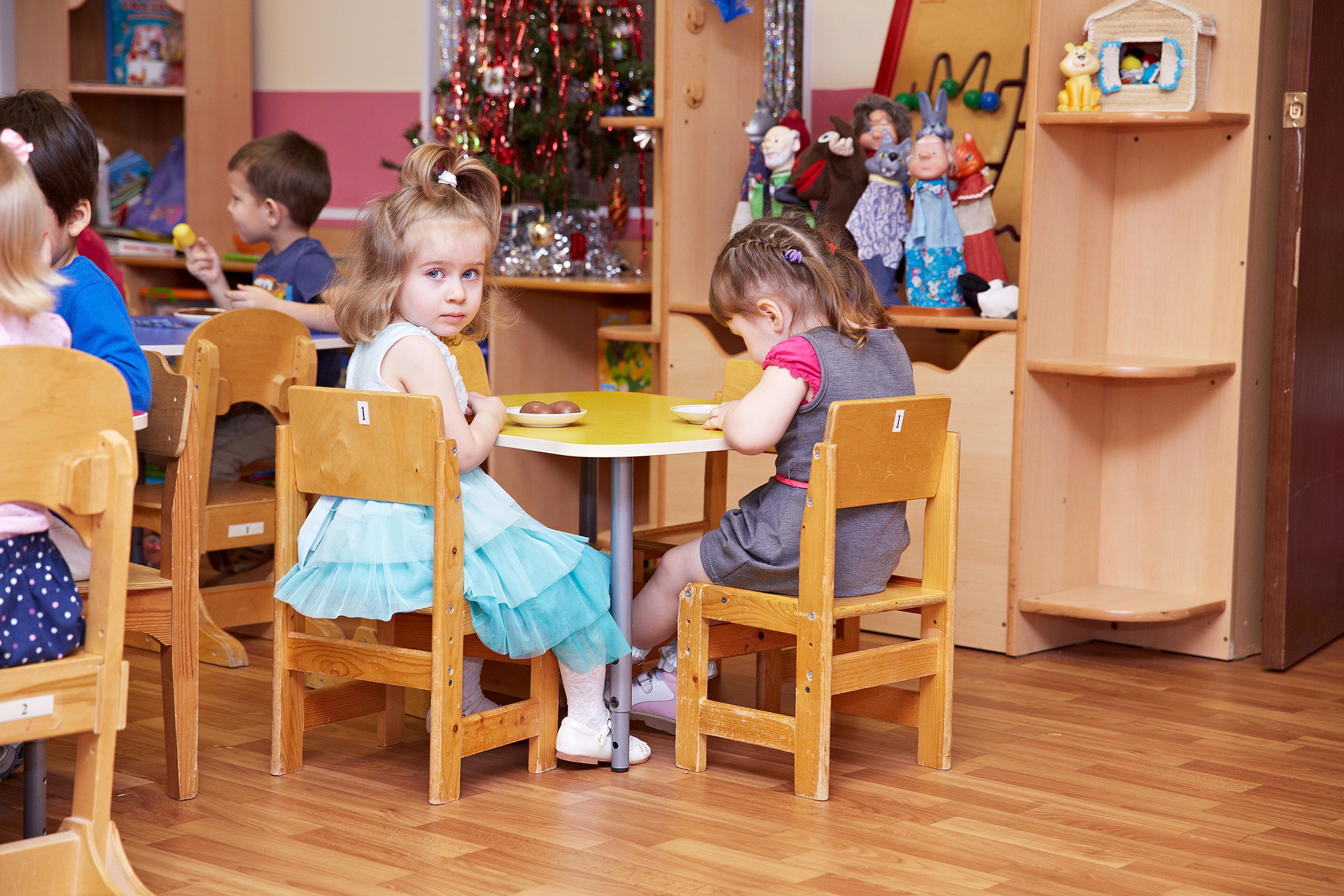 Утренник в детском саду