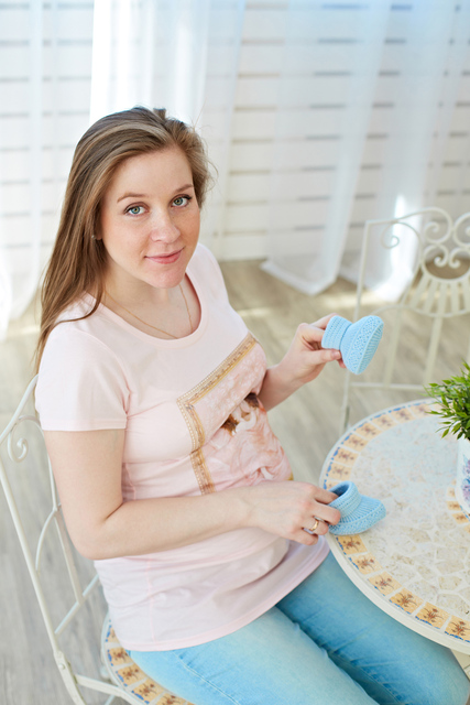 Фотосессия в студии - беременность