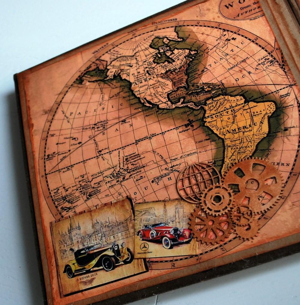 «Путешествие по миру в стиле ретро».