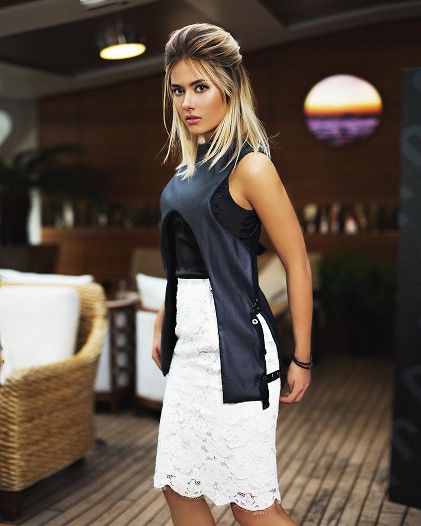 Юлия Паршута для журнала Fashion People