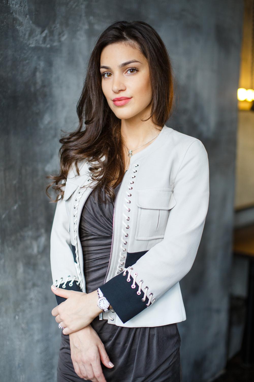 Деловой портрет стилист Алина Мальцагова