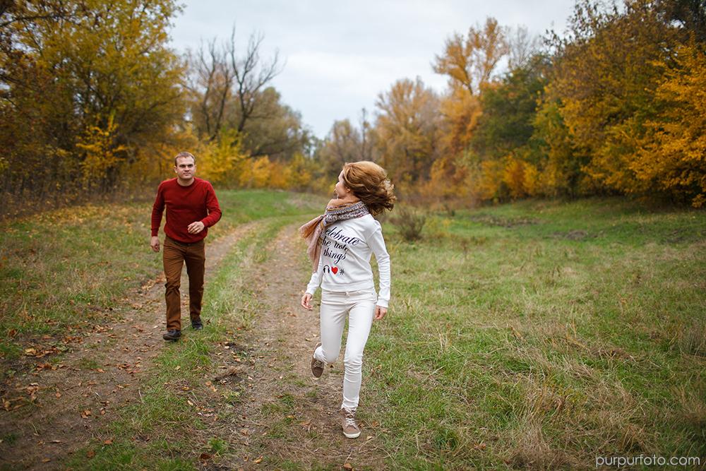 прогулка Юля и Андрей