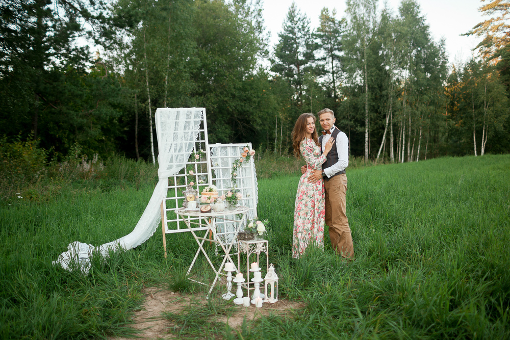 WOOD WEDDING