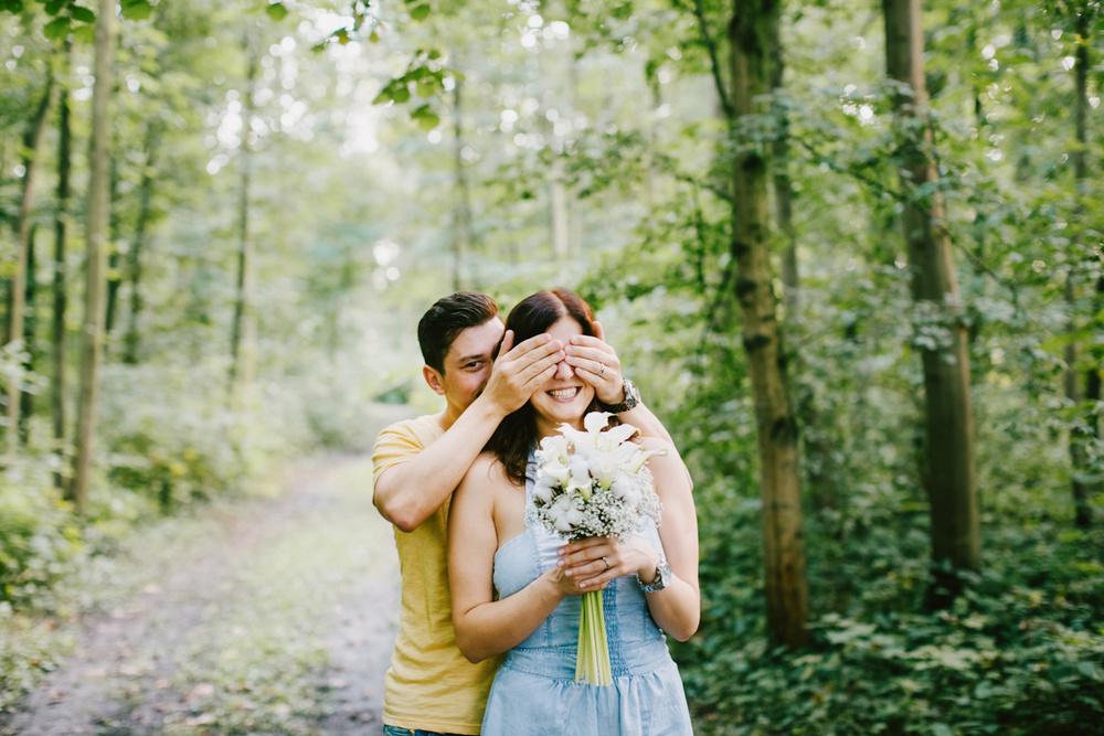 Morgen ist unsere Hochzeit