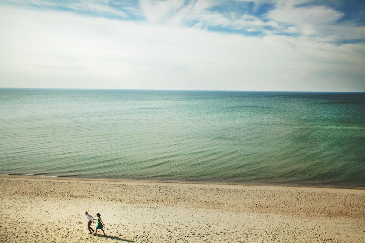 April am Ostsee