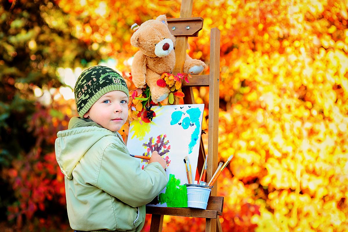 А вы уже были на осенней фотосессии, и рисовали осень? Если нет, то запись на съемки продолжается!