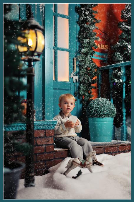 """Полным ходом идут съемки в формате фотопроекта """"Новогодняя открытка"""""""
