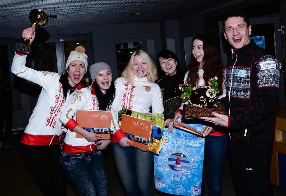 Впервые в истории белорусского керлинга два призовых места на международной арене!