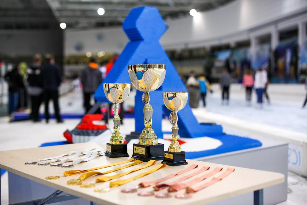 Церемония награждения Открытого кубка РБ по керлингу 2016