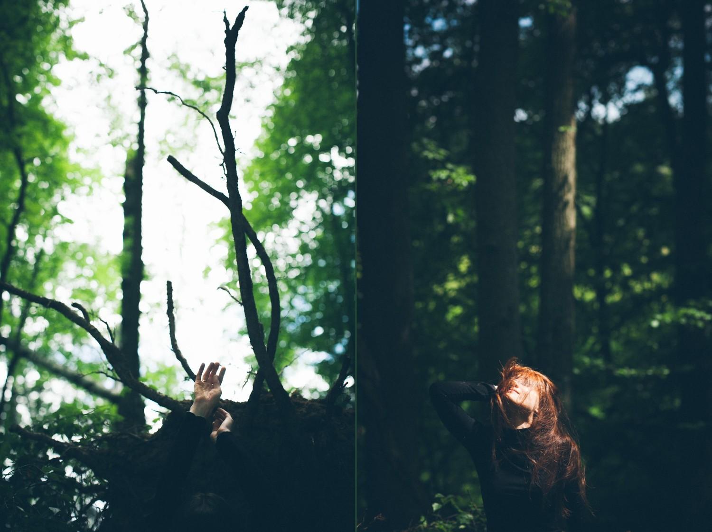 Ирина. Природная съёмка.