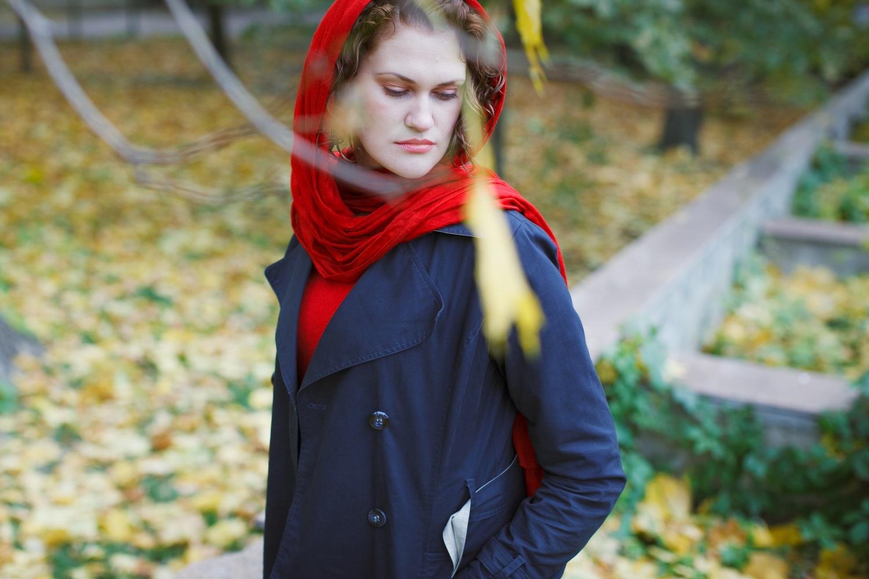 Татьяна. Девушка в красном.