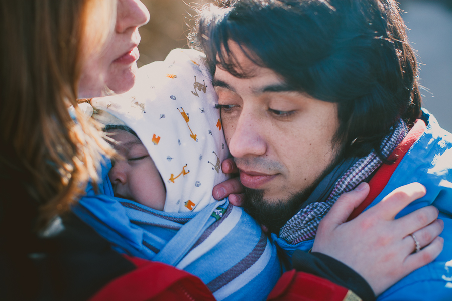Игорь, Юлия и малыш Габриэль
