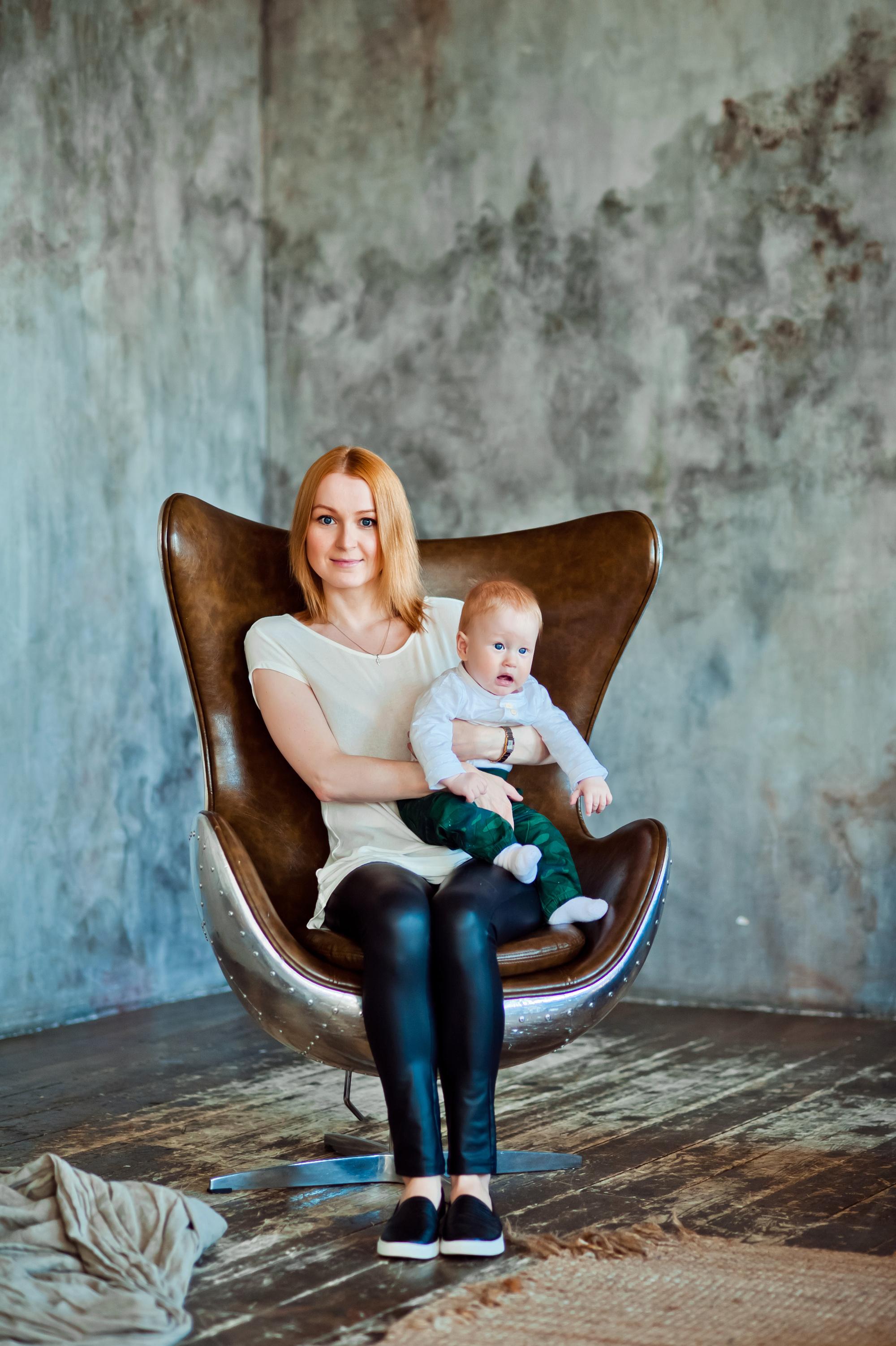 Семейная фотосессия мама&сын