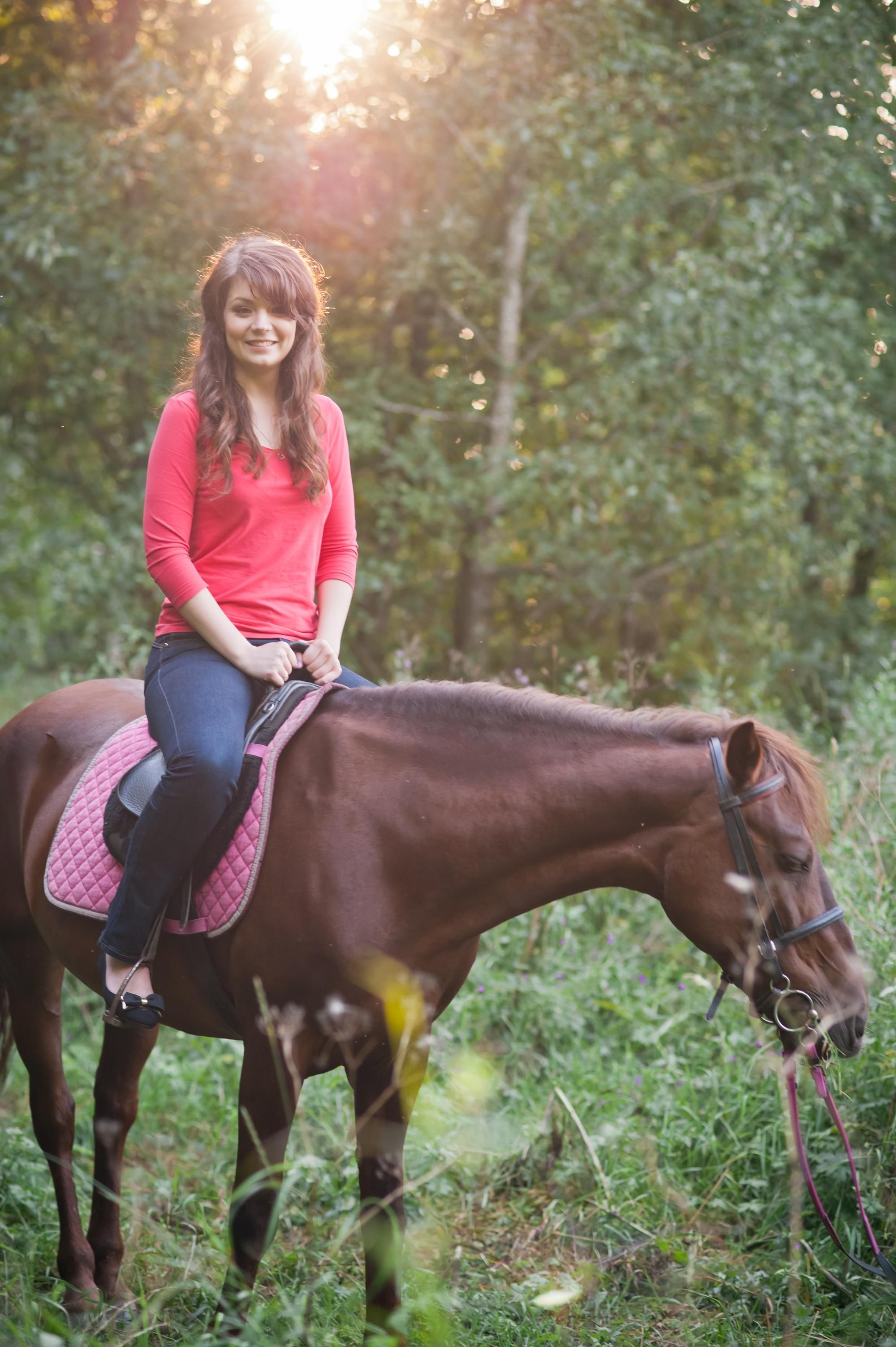 Саша&Илья лавстори на лошадях