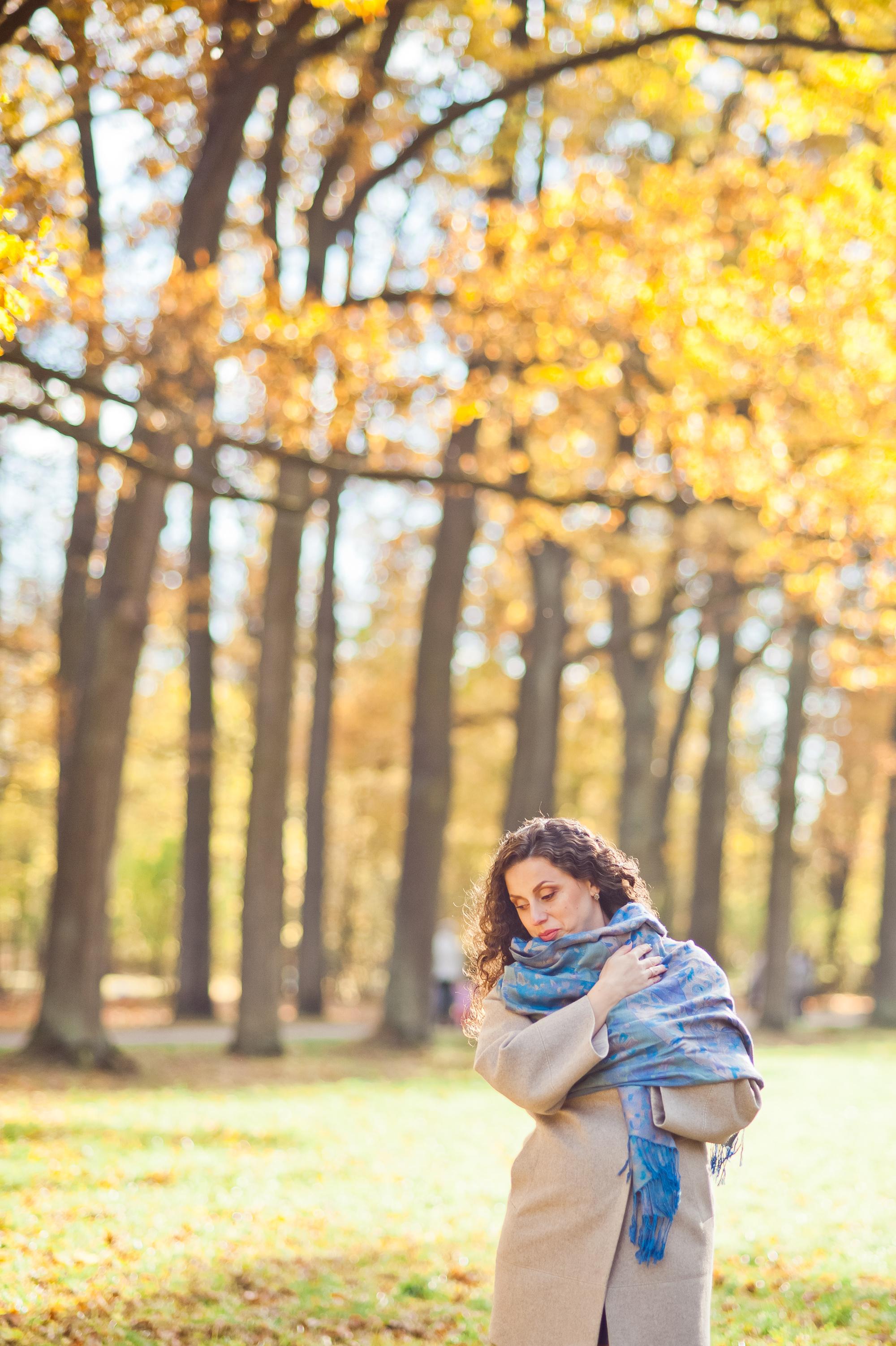 Осенняя прогулка (Ольга, Сергей и Кристина)