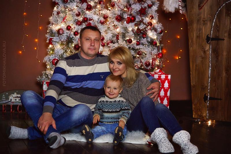 новогодний фотопроект, фотограф ольга михайлова