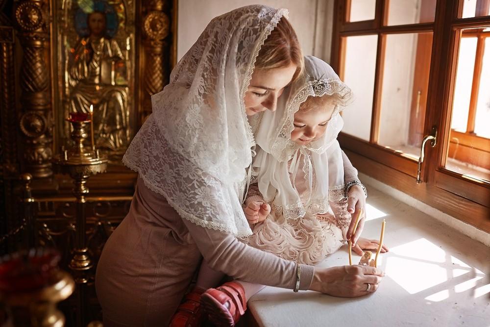 фотосъемка крещения, фотограф на крещение, фотограф крестины, Храм Тихвинской Иконы