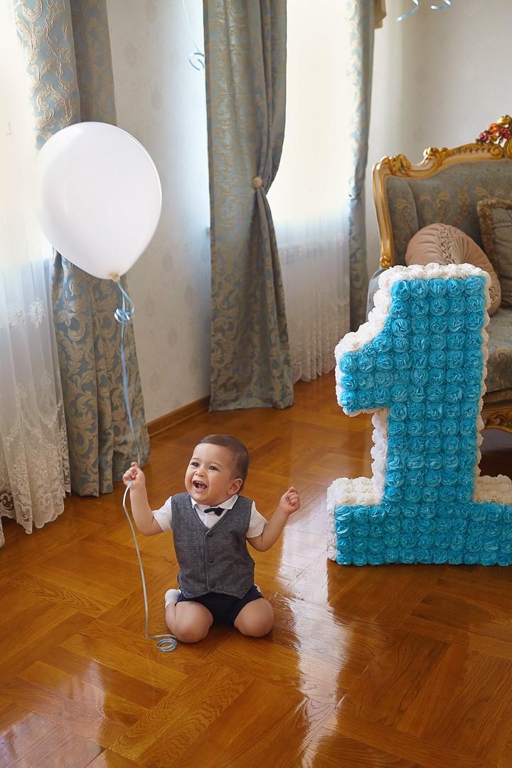 фотосессия на годик, фотосъемка годовасия, первый день рождения