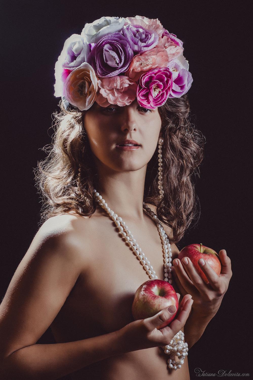 FLOWER GIRL - PHOTOSHOOTING