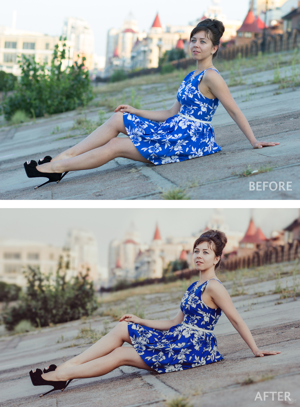 BEFORE AND AFTER-ДО И ПОСЛЕ