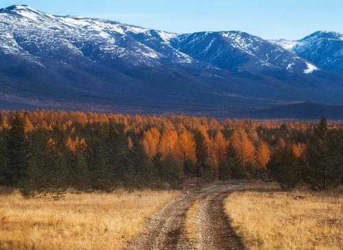 Baikal autumn