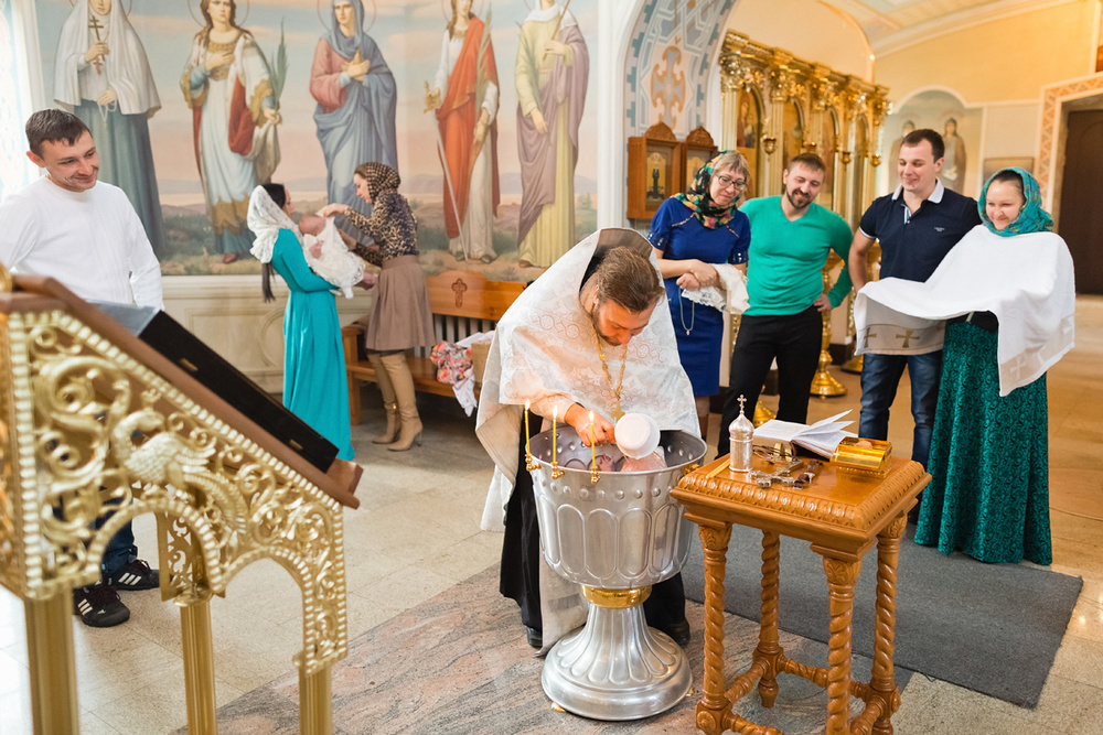 Крещение Есении и Василисы