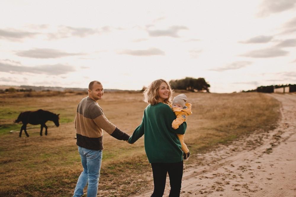 Лилия, Сергей и Даниил
