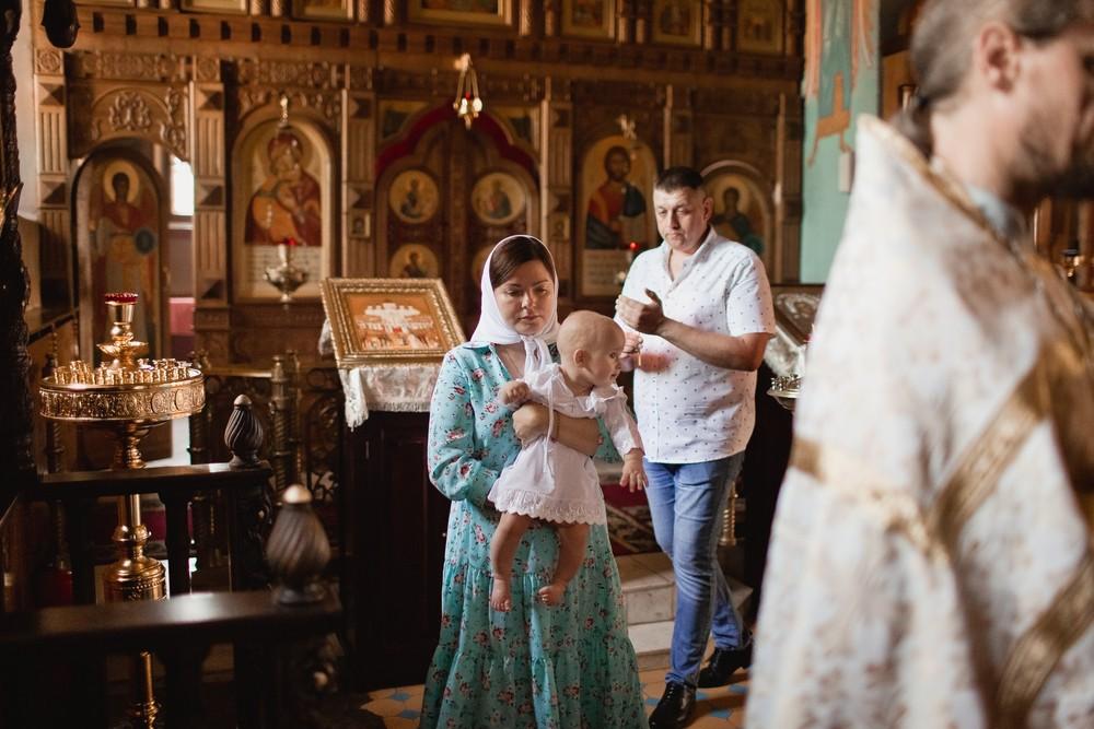 Крещение Дмитрия