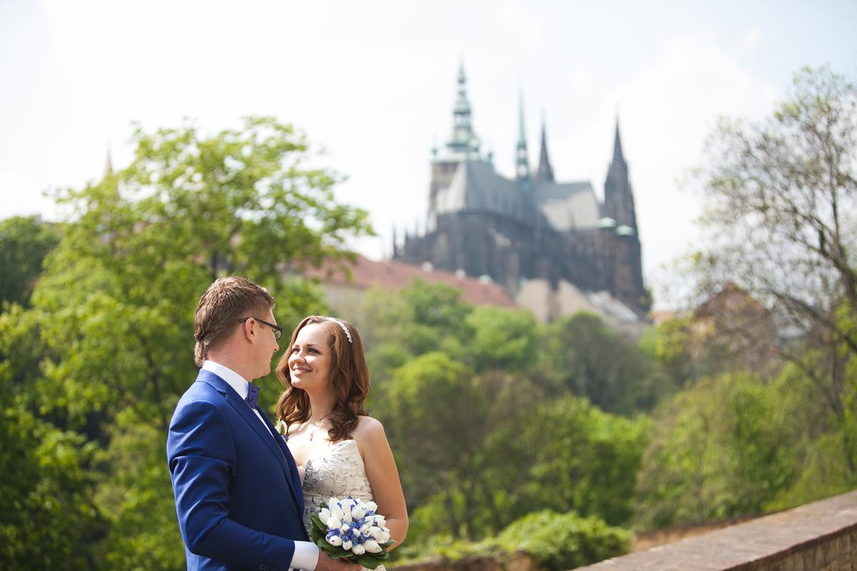 Сергей и Александра. Прага