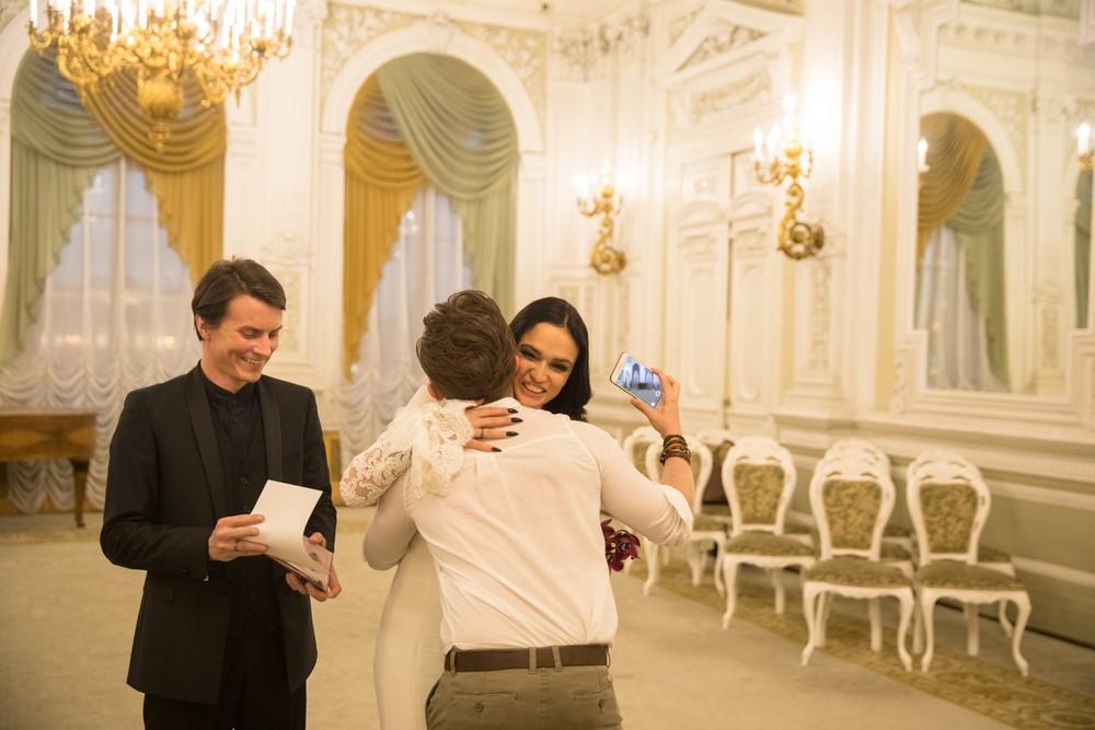 Алексей Косинус и Алена Водонаева