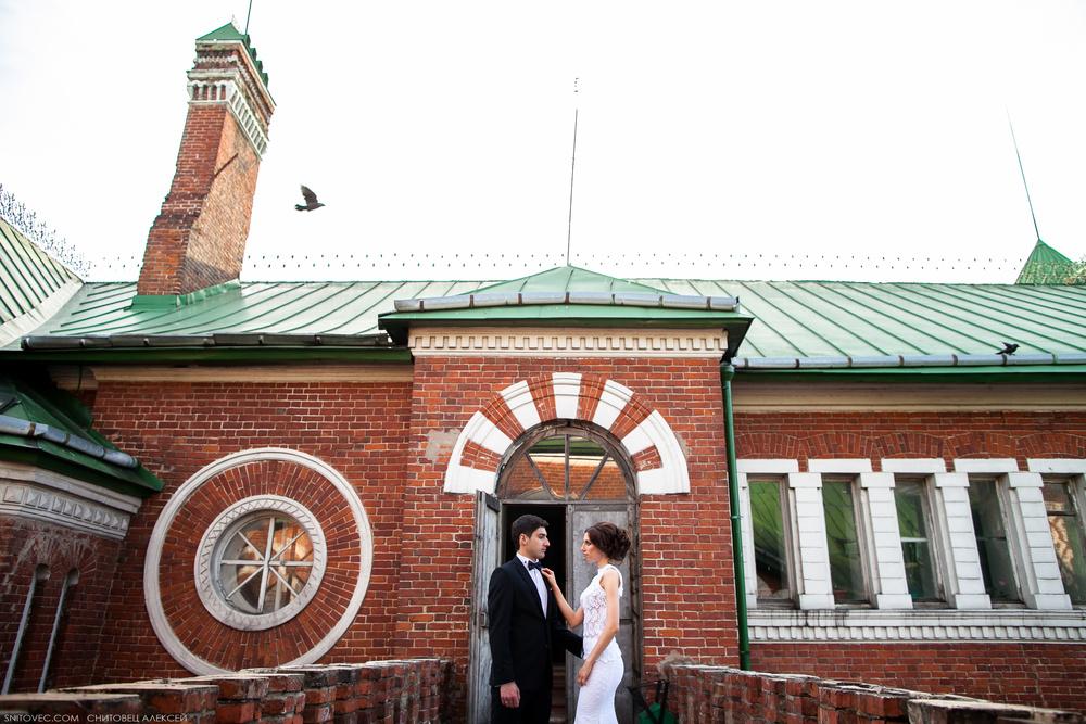 Григорий и Ирина. Замок Шереметьева