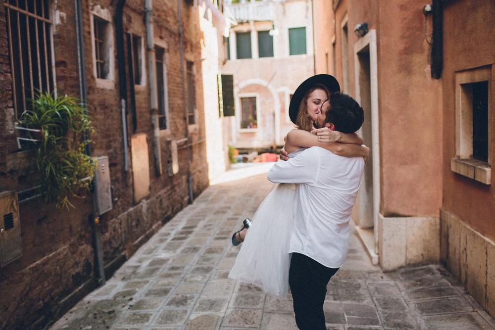 Jenny & George. Love in Venice