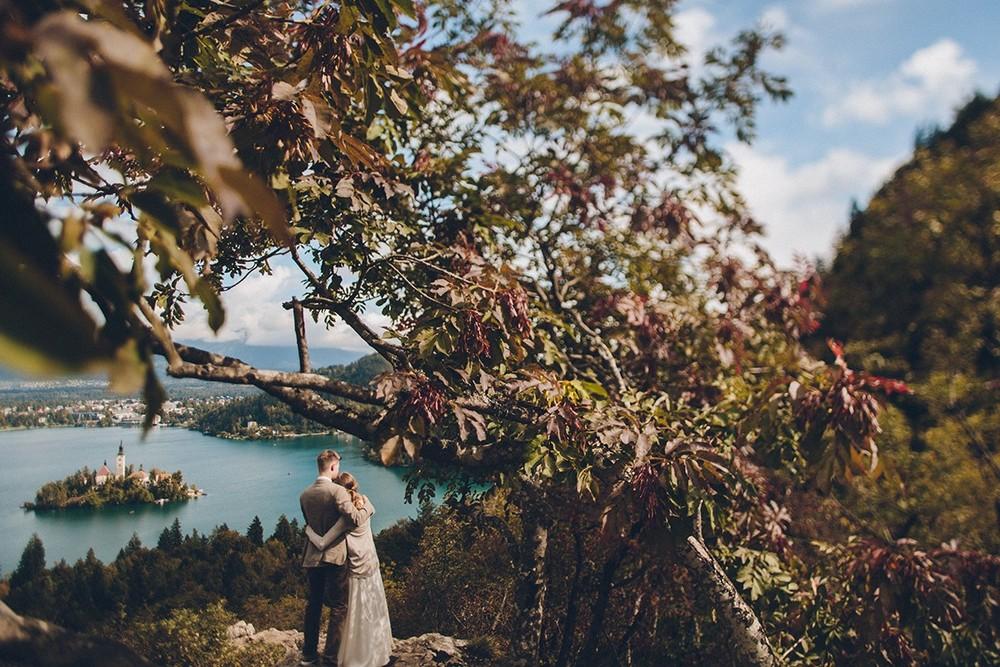 Ales & Yana. Slovenia. Lake Bled