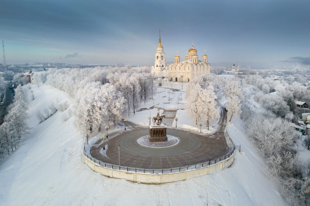 Аэросъёмка во Владимире