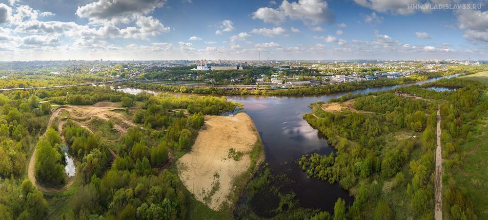 панорама владимира с воздуха