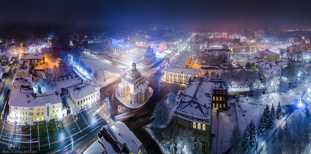 Заказать аэросъёмку в Москве