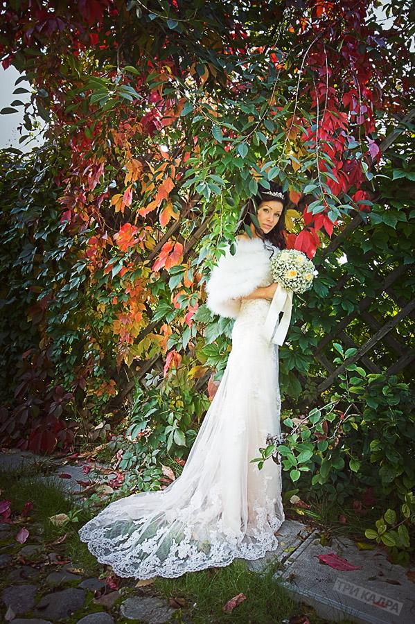 Фотография невесты в платье