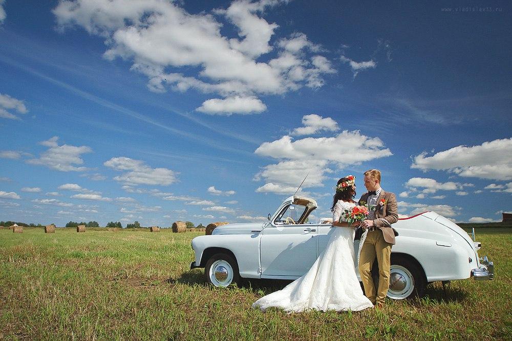 Свадебная фотосессия в полях