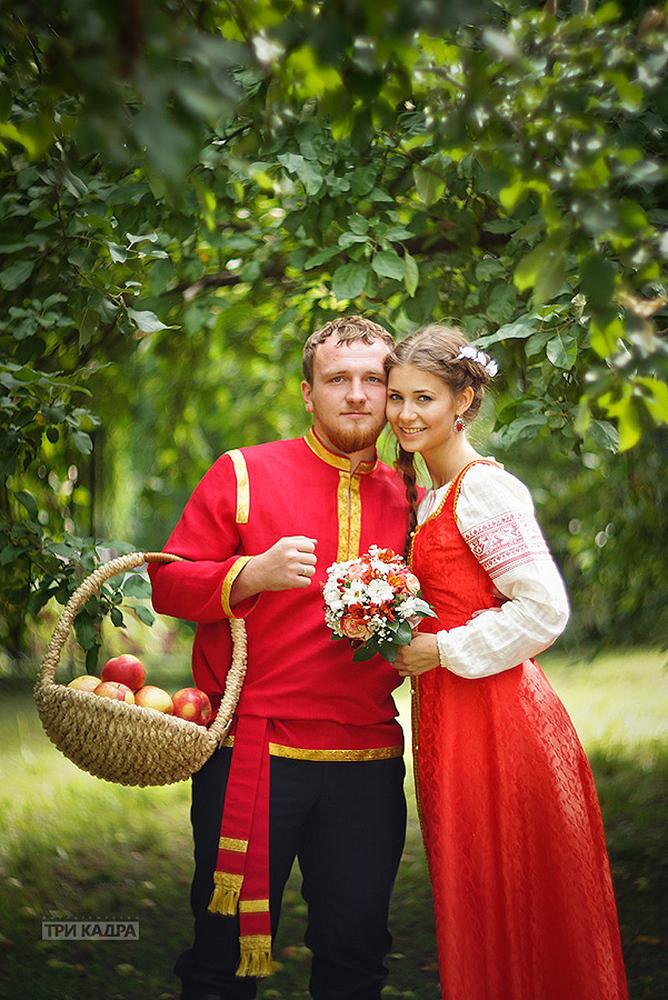 Русско народная свадьба