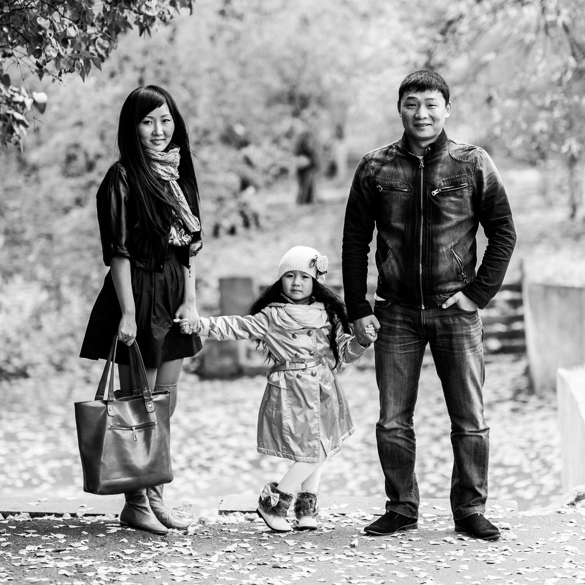 Кира и ее родители