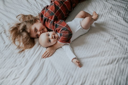 Домашняя семейная фотосессия
