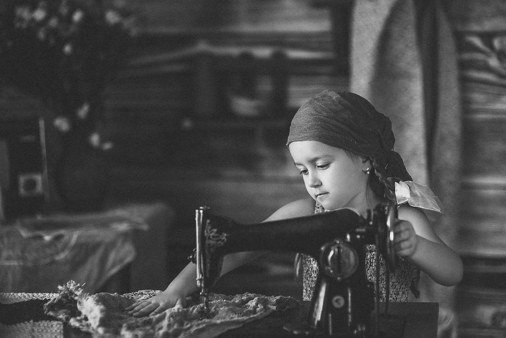 Детская фотосессия - Кира